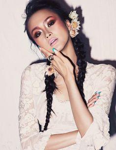 Lee Hye Jung by GL Wood for Elle