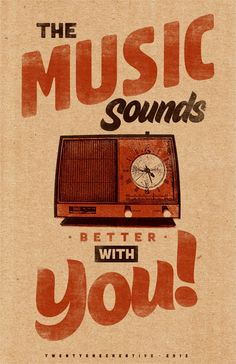 our kickass music selections sound even better with you-