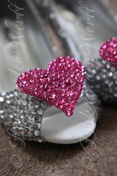 BLING WEDDING SHOES FOR NICOLLE AT WYNYARD HALL