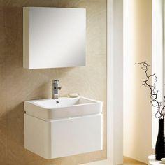 "26"" Sumiko Wall-Mount Vanity with Medicine Cabinet - Bathroom"