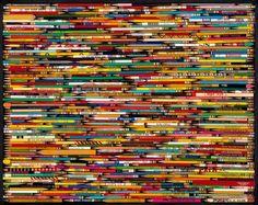 Pencil Collage Puzzle-White Mountain Puzzles, $16.95