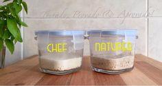 FERMENTAÇÃO NATURAL - Convertendo Fermento Branco em Integral