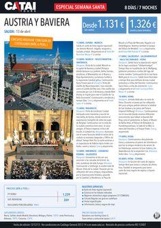 Especial Semana Santa: Austria y Baviera, circ regular castellano, sal 13 abr, 8d/7n desde 1.131€ ultimo minuto - http://zocotours.com/especial-semana-santa-austria-y-baviera-circ-regular-castellano-sal-13-abr-8d7n-desde-1-131e-ultimo-minuto/