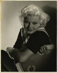 https://flic.kr/p/6kJn8q | 2835-0003a | Jean Harlow portraits from The Girl From Missouri by George Hurrell.