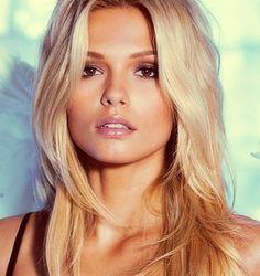 Beauty, blonde, hair,