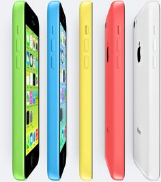 iPhone 5C  in blue and other colors, doesn't look awful. Apple has all but confirmed the iPhone 5C, a budget phone that replaces the iPhone 4 and 4S with the same speed as the new iPhone 5. Apple's announcement is Sep. 10th and the 5C along with the 5S, both running iOS 7 will be the stars of the show. but its still pretty expensive