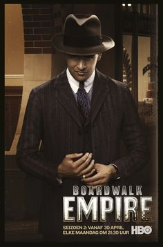 "Charles ""Lucky"" Luciano (Vincent Piazza)  Boardwalk Empire 2 sinds 30 april elke maandag om 21:30u op HBO."