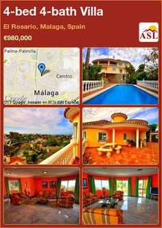 4-bed 4-bath Villa in El Rosario, Malaga, Spain ►€980,000 #PropertyForSaleInSpain