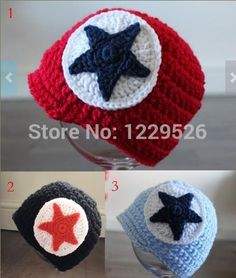 New Style Cheap pentagram crochet baby hat, winte baby wear hats for 0-1 years old baby,hat shop