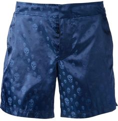 Alexander McQueen skull print swim shorts on shopstyle.com