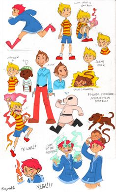 deviantART Socks Cartoon Alice Cute | mother 3 by Socks-and-Notebooks
