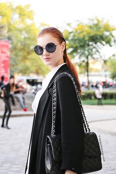 Anastasia Ivanova at Shiatzy Chen SS 2015 Paris Snapped by Benjamin KwanParis Fashion Week