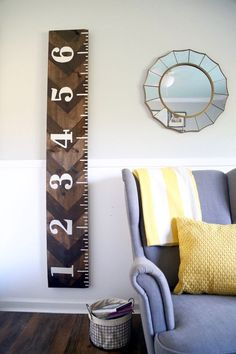 Make Your Own Huge Wooden Growth Chart