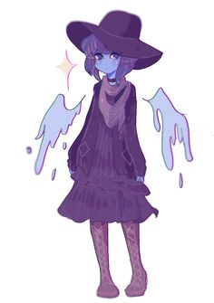People should stop drawing lapis in pretty outfits because it's my aesthetic