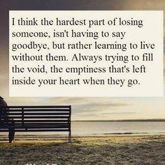goodbye, losing someone, let go