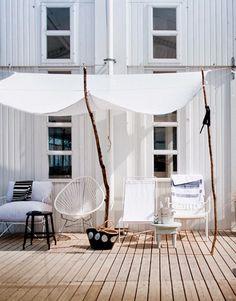 Clásicos del diseño industrial: Cómo decorar con la silla Acapulco / Acapulco chair: New uses & redesigns