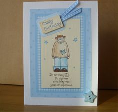 70th Male Birthday Card by Aunty Joan Crafts on Etsy
