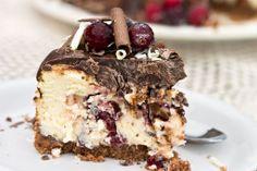 Cranberry Swirl Cheesecake