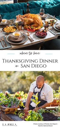 Where to eat Thanksgiving Day dinner in San Diego at restaurants or via chef-prepared meals that you can take home. Get all the details here at La Jolla Mom Food Tips, Food Hacks, La Jolla San Diego, Perfect Turkey, San Diego Restaurants, Roasted Turkey, Beach Fun, Food Preparation, Thanksgiving