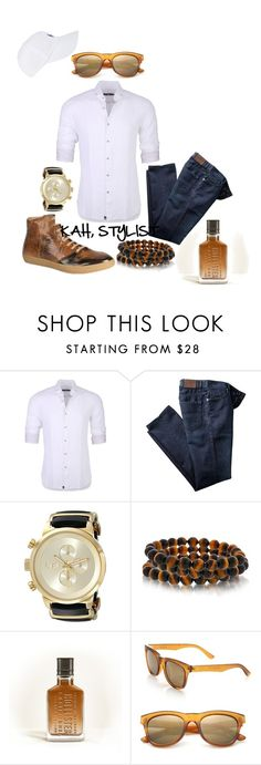 """""""Gents Style Files"""" by kimberlyannhawes ❤ liked on Polyvore featuring Stone Rose, Bling Jewelry, Hollister Co., Glassing, Polo Ralph Lauren, men's fashion and menswear"""
