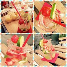 Citron, limetka, jahody, led! :)