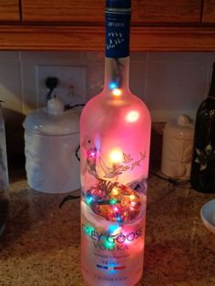 1000 Images About Liquor Bottle Lamps On Pinterest