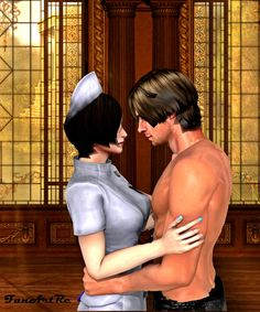 Resident evil: Ada Wong and Leon Kennedy by FanArtRe on DeviantArt