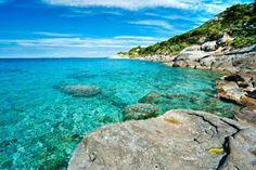 sant'andrea beach, elba island, italy