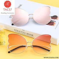 4eb94460dc107 Butterfly Wings Sunglasses Women Unique Glassses Trendy Glasses Designer  Fashion Male Female Shades Trending Accessories Cat
