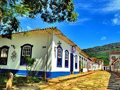 Casas em Tiradentes, Minas Gerais, por Angelo Savastano