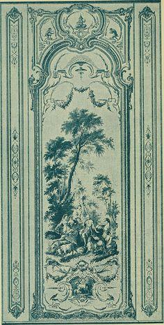"""Image from page 217 of """"Débuts de l'imprimerie en France : l'Imprimerie nationale, l'Hôtel de Rohan"""" (1905): """"Cabinet des singes""""."""