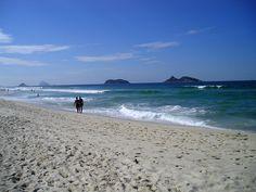 praia da Barra da Tijuca, Rio.