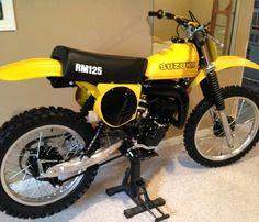 Suzuki RM125 1979