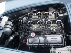 genuine FIA Cobra engine Ac Cobra, Ford Shelby Cobra, Shelby Car, Car Ford, Ford Gt, Shelby Daytona, Cobra Replica, Performance Engines, Mustang Fastback