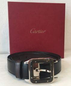 Cartier Santos Buckle Belt