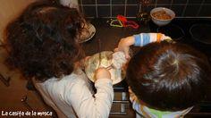 Beneficios de cocinar con  los niños