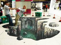 Another 15 Amazing 3D Street Illusions - Oddee.com (3d street, street illusions)