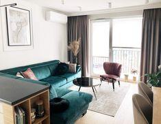 """Polubienia: 34, komentarze: 0 – Aleksandra Janiszek (@ajaniszek.architekturawnetrz) na Instagramie: """"Zdjęcia pięknej realizacji to chyba najlepszy moment pracy projektanta😍 ⠀⠀⠀⠀⠀⠀⠀⠀⠀ ⠀⠀⠀⠀⠀⠀⠀⠀⠀ To…"""" Couch, Furniture, Home Decor, Living Room, Settee, Decoration Home, Sofa, Room Decor, Home Furnishings"""