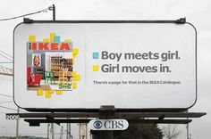 IKEA: Boy meets girl   Never truer words were said...