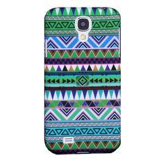 Aztec tribal hard case hoesje Samsung Galaxy S4