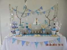 Frozen Birthday Party Ideas | Photo 2 of 41 | Catch My Party