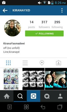 Suggested to follow kiranayxd at instagram