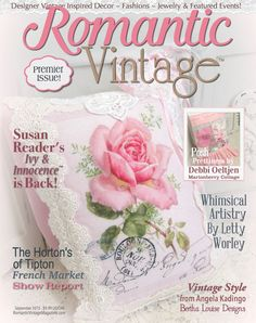 Brand new magazine, available September, 2015! Susan Reader's Ivy & Innocence is Coming Back!!