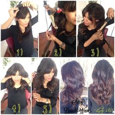 Easy, sexy beach waves tutorial using Kenra Platinum Dry Texture Spray 6. By @Lady Art Looks