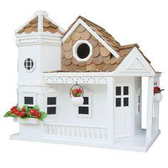 Classic Series Sea Cliff Cottage Freestanding Birdhouse