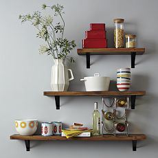 Salvaged Wood Shelf    West Elm - love this website for home goods!