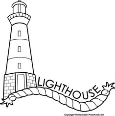 39 best Lighthouse clipart & silhouette images on