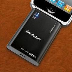 Rechargeable Backup Battery for iPod and iPhone Devices  $49.99