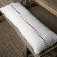 Best 10 Linen Bench Cushion Foto Ideas Bench Seat Pads, Old Pillows,  Reclaimed Wood