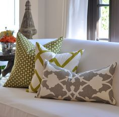 Milli Home Decorative Pillows : Best prices and free shipping on Kravet. Featuring Barbara Barry Fabrics. Over 100,000 patterns ...